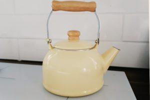 ホーロー やかん 白湯